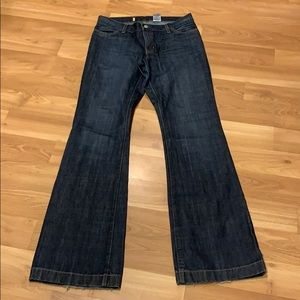 Gap long and lean jeans size 6